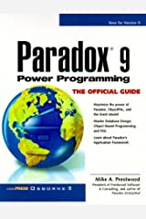 Paradox 9 Power Programming: The Official Guide Paperback
