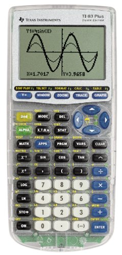 Texas Instruments TI-83-Plus Silver Edition by Texas Instruments
