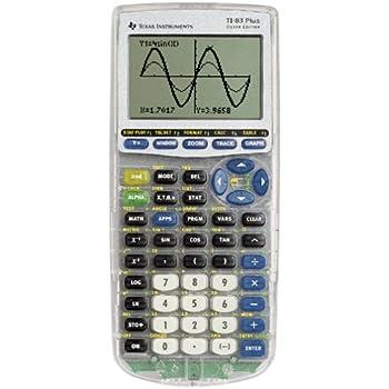 Texas Instruments TI 83 Plus Silver Edition