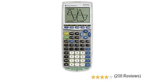 Amazon.com : Texas Instruments TI-83-Plus Silver Edition ...