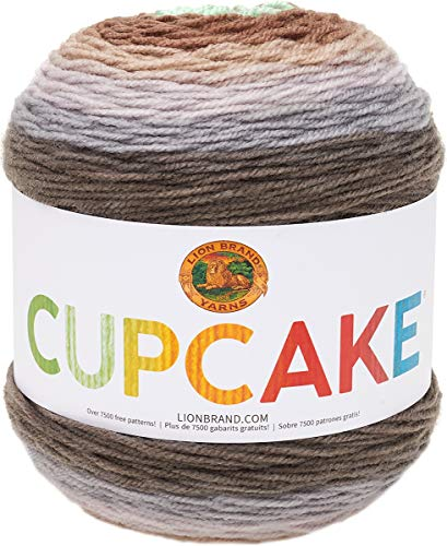 Lion Brand Yarn Cupcake Yarn, Mint Chip