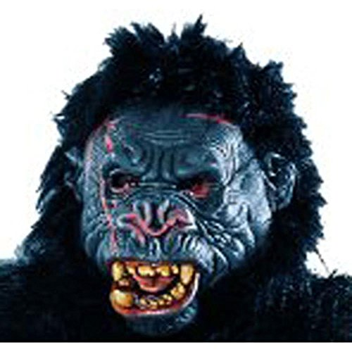 [Adults King Kong Gorilla Costume Mask] (Cabaret Costumes For Men)