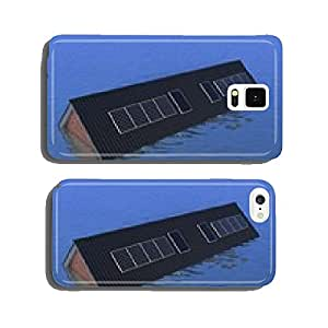 House under water - only roof still above water cell phone cover case Samsung S5
