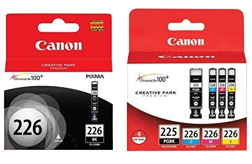 Genuine Canon PGI-225/CLI-226 Ink Tank Combo Pack  + Canon C