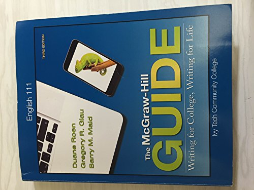 The McGraw-Hill Guide: Writing for College, Writing for Life & Connect Online Access Card