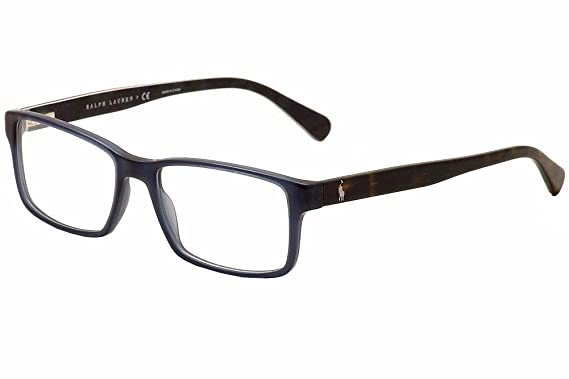 polo ph2123 eyeglass frames 5498 54 vintage blue