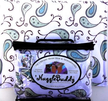 'NUGGLEBUDDY NEW! Microwaveable Moist Heat & Aromatherapy Or