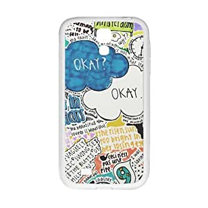 The Fault in Our Stars Okay? Okay Printed Cell Phone Case for Samsung Galaxy S4
