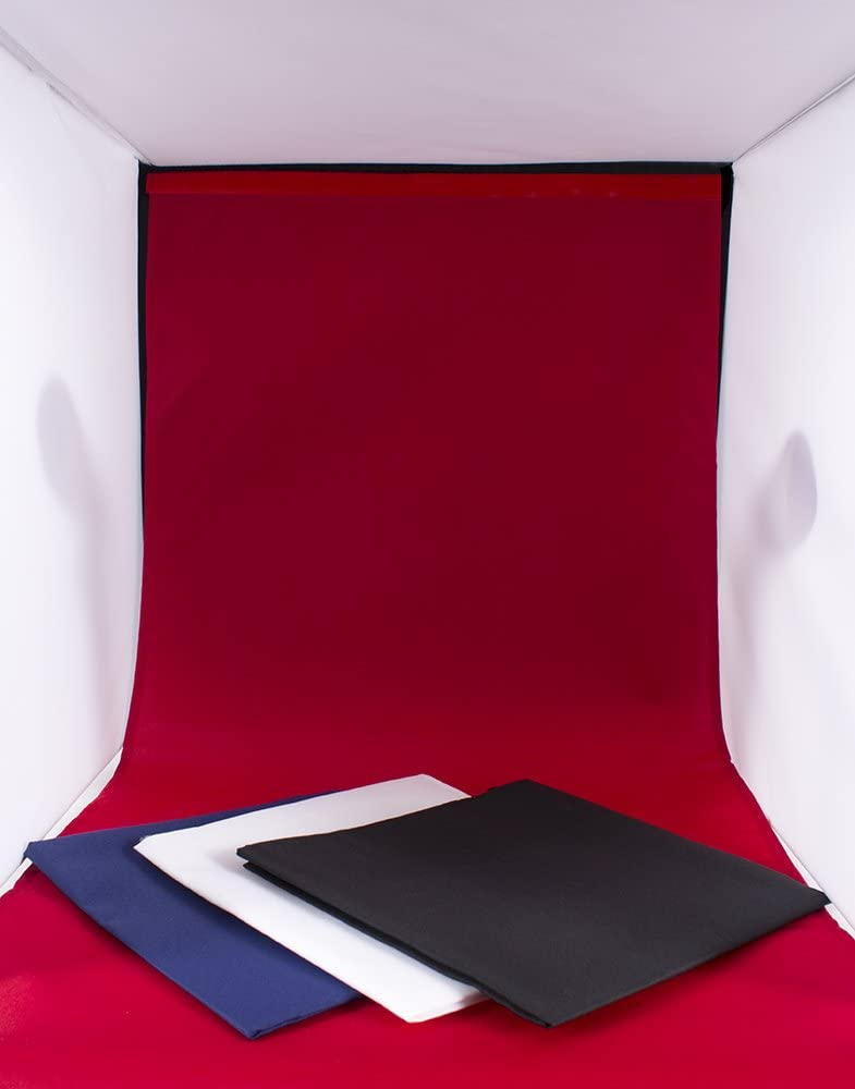 StudioPRO Photo Studio Square Light Tent Complete Table Top Kit 16 Inch