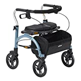 Drive Medical Arc Lite Rollator Walker, Blue