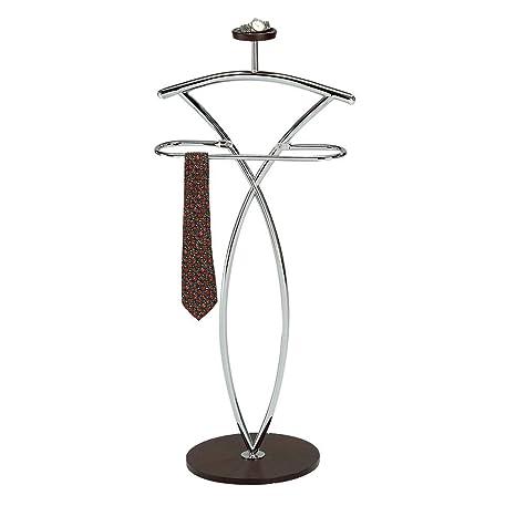 Amazon.com: inroom diseños Madera y Metal Galán De Noche ...