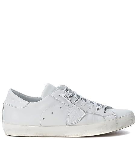 Damen Clldsd01 Weiss Leder Sneakers Philippe Model k8FlK
