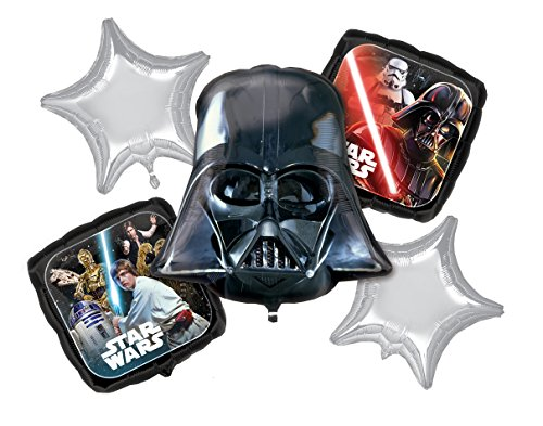 Amscan 3553301 Star Wars Foil Balloon Set