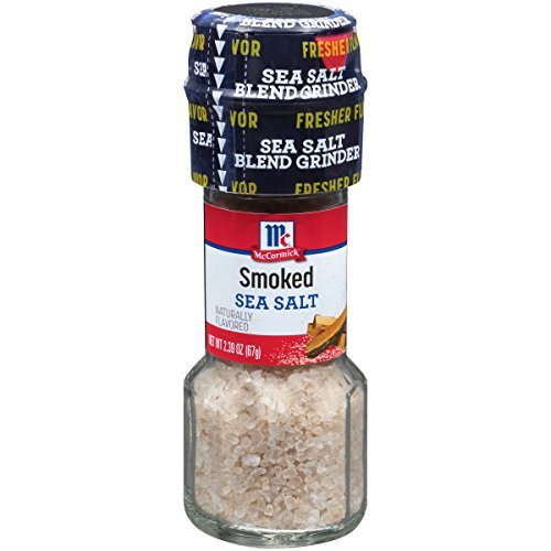 McCormick Smoked Sea Salt Grinder, 2.39 oz Hickory Smoked Sea Salt