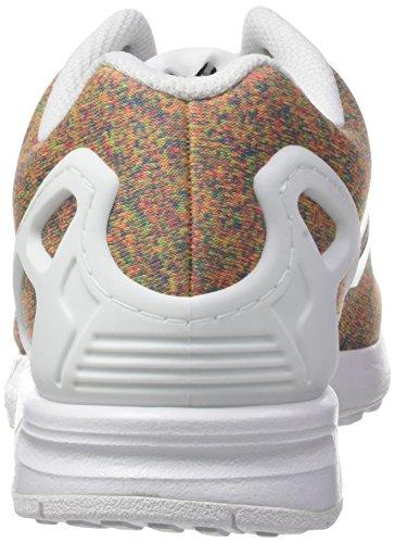 adidas Zx Flux, Zapatillas para Hombre Multicolor (Footwear White/footwear White/footwear White)