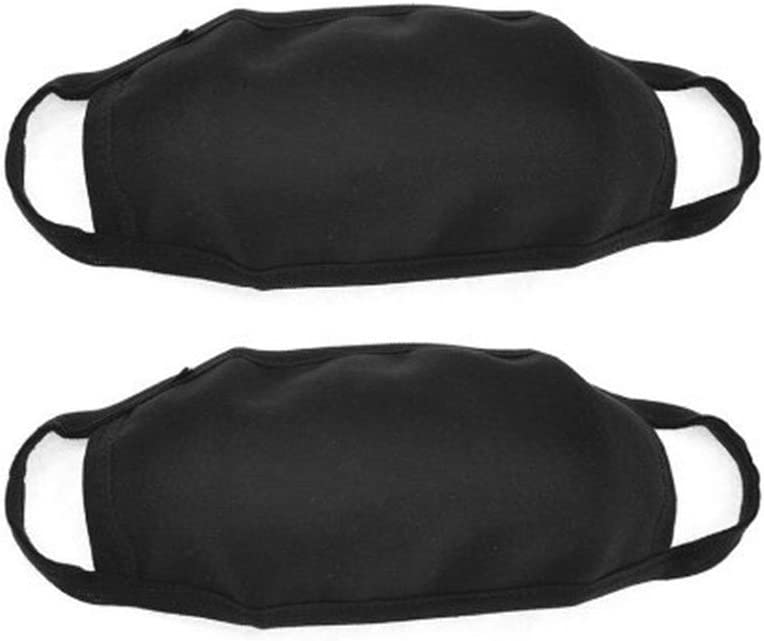 Cdet 1X Máscara de algodón Dos Capas de máscaras en Blanco protección Laboral máscara de protección Solar de Polvo médica