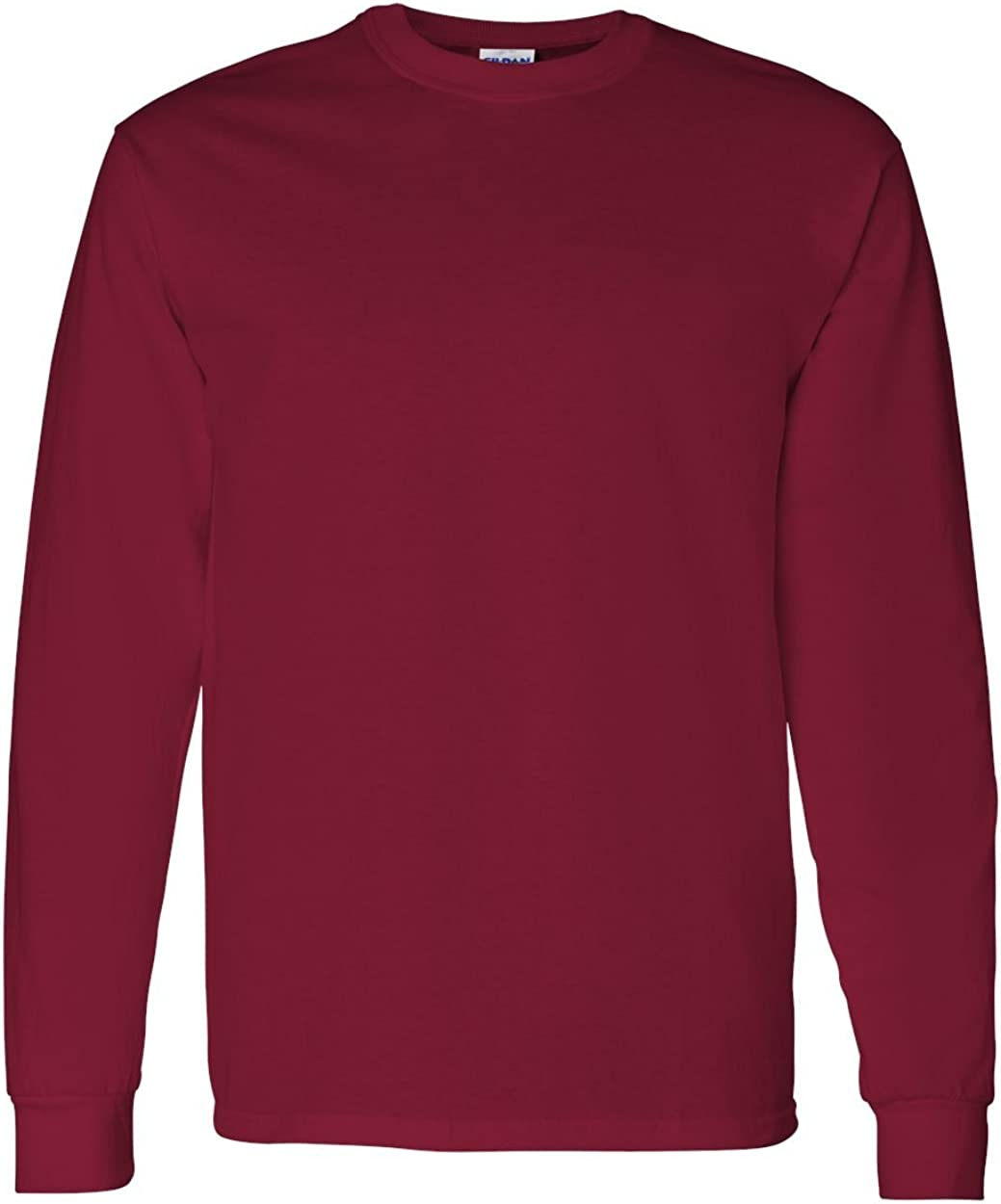 Gildan Heavy Cotton 100% Cotton Long Sleeve T-Shirt.