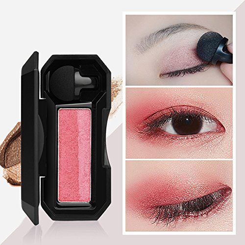 Highpot Eyeshadow Palette Makeup Colour Richer Dual Effects Shimmer Eye Eyeshadow Palette (A)]()