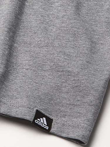 adidas Boys' Short Sleeve All Here Heather Tee 3