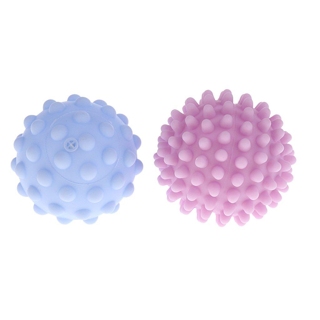 Sharplace Balles B/éb/é Sensorielles Douce en Silicone de S/écurit/é sans BPA 4 Pcs