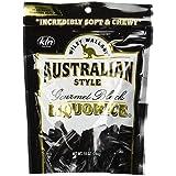 Wiley Wallaby Gourmet Australian Style Liquorice Gourmet Black Liquorice, 10-Ounce (Pack of 4)