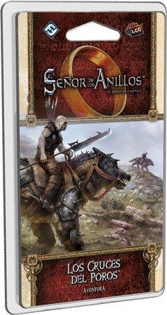 Fantasy Flight Games-El señor de los Anillos lcg: Los Cruces del Poros-español, Color (FFMEC61): Amazon.es: Juguetes y juegos