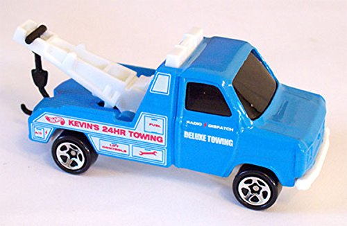 FORD TRANSIT WRECKER Hot Wheels Blue Tow Truck 1:64 Scale Collectible Die Cast Car #620 (Diecast Wrecker Truck)