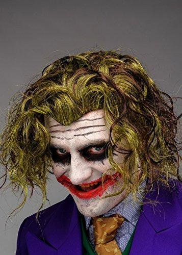 Hombres Adultos Caballero Oscuro Estilo La Peluca Joker: Amazon.es: Juguetes y juegos