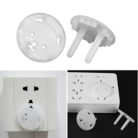 EU Power Socket Electrical Outlet Baby Children Safety Guard Protection 10pcs