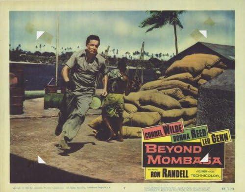 Más allá de Mombasa Póster de película G 11 x 14 - 28 cm x 36 ...