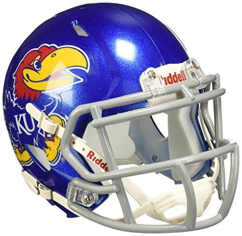 - NCAA Kansas Jayhawks Speed Mini Helmet
