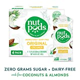 nutpods Original 4-Pack, Unsweetened Dairy-Free Creamer, Whole30, Paleo, Keto, Non-GMO and Vegan, for Coffee, Tea and Cooking, Made from Almond and Coconut Larger Image