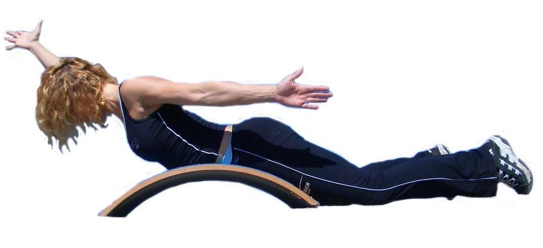 T-Bow - Arco Multifuncional de Entrenamiento y Terapia motriz, Madera Natural: Amazon.es: Deportes y aire libre