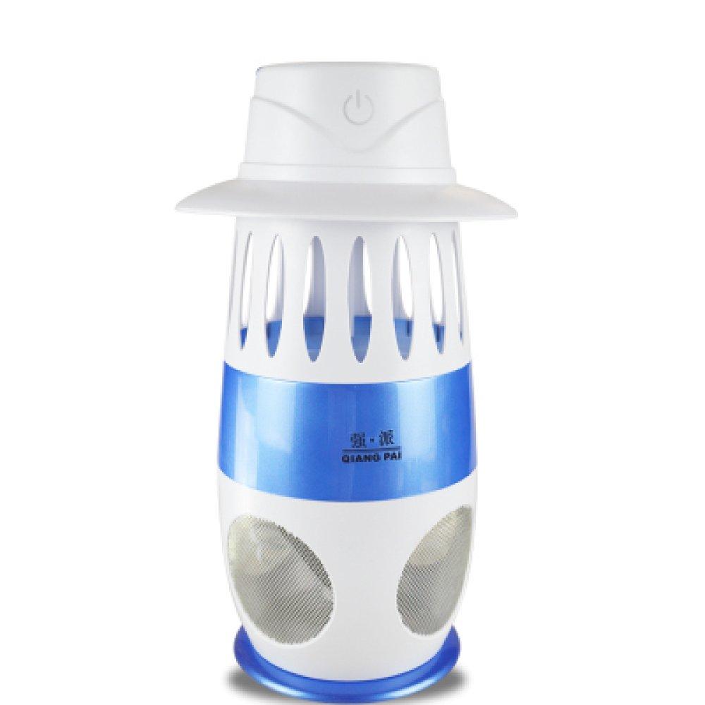 Smart Lichtsteuerung Anti-Moskito-Lampe LED-Saug Ungiftig Strahlungsfrei Tragbare Elektrische Moskitofalle Für Hotel Restaurant Home,Blau
