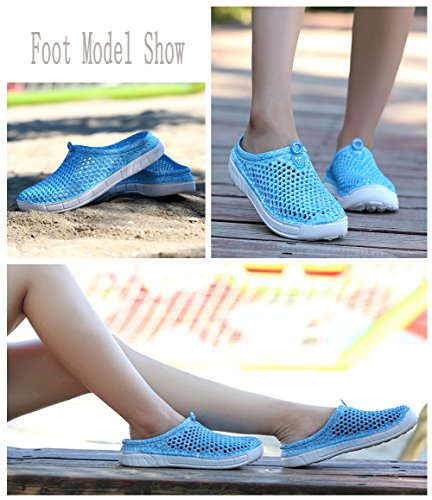 Blankey Unisex Quick Drying Water Shoes Slippers Garden Clog For Women Men Beachwear Sandals Water Sport Blue 86yqP