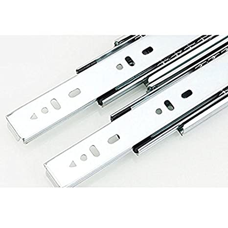 Dometool 6 inch Hardware Replacement Drawer Slide Cabinet Hardware Pack of 2pcs