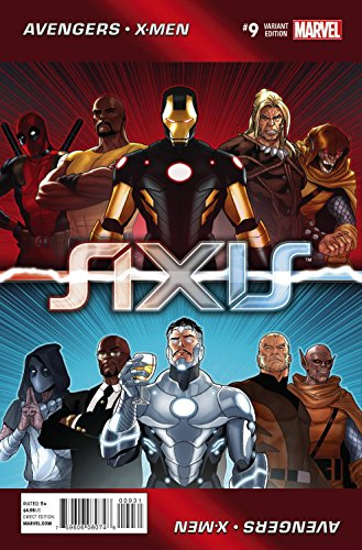 marvel axis variant - 4