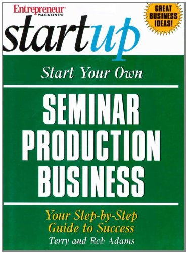 Download Start Your Own Seminar Production Business (Entrepreneur Magazine's Start Up) pdf epub