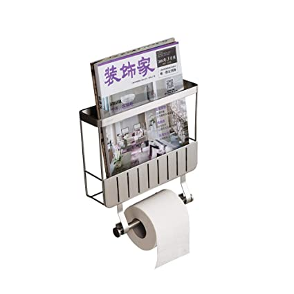 Amazon Com Mei Toilet Paper Holder Wall Mounted Toilet Roll