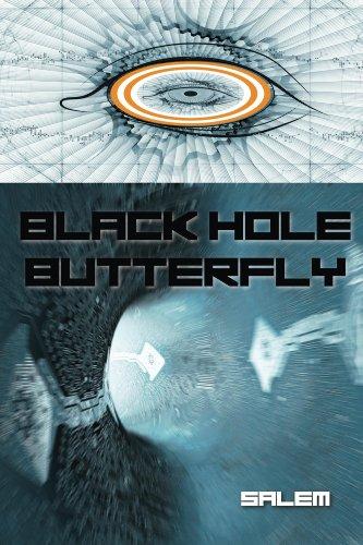Black Hole Butterfly (Sapphire Tuxedo)