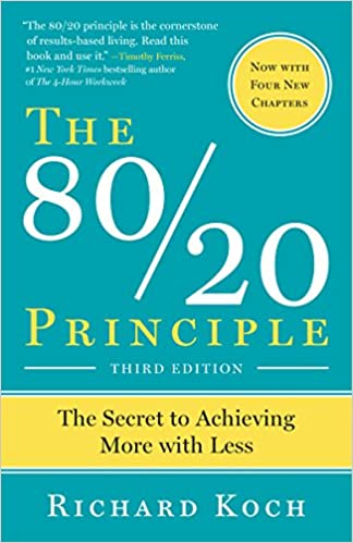Buy The 8020 Principle The Secret To Achieving More With Less Book