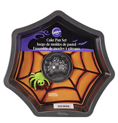 Wilton 2105-8920 Web with Spider Cake Pan Set -
