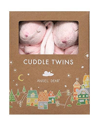 - Angel Dear Cuddle Twins Blankie, New Pink Bunny