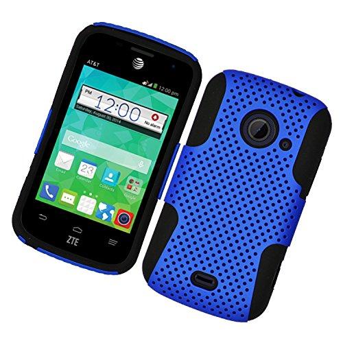 zte prelude blue phone case - 4