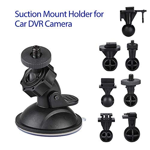 8 in 1 Car Dash Camera Mount Holder Sports Action Camera Bracket Suction Cup