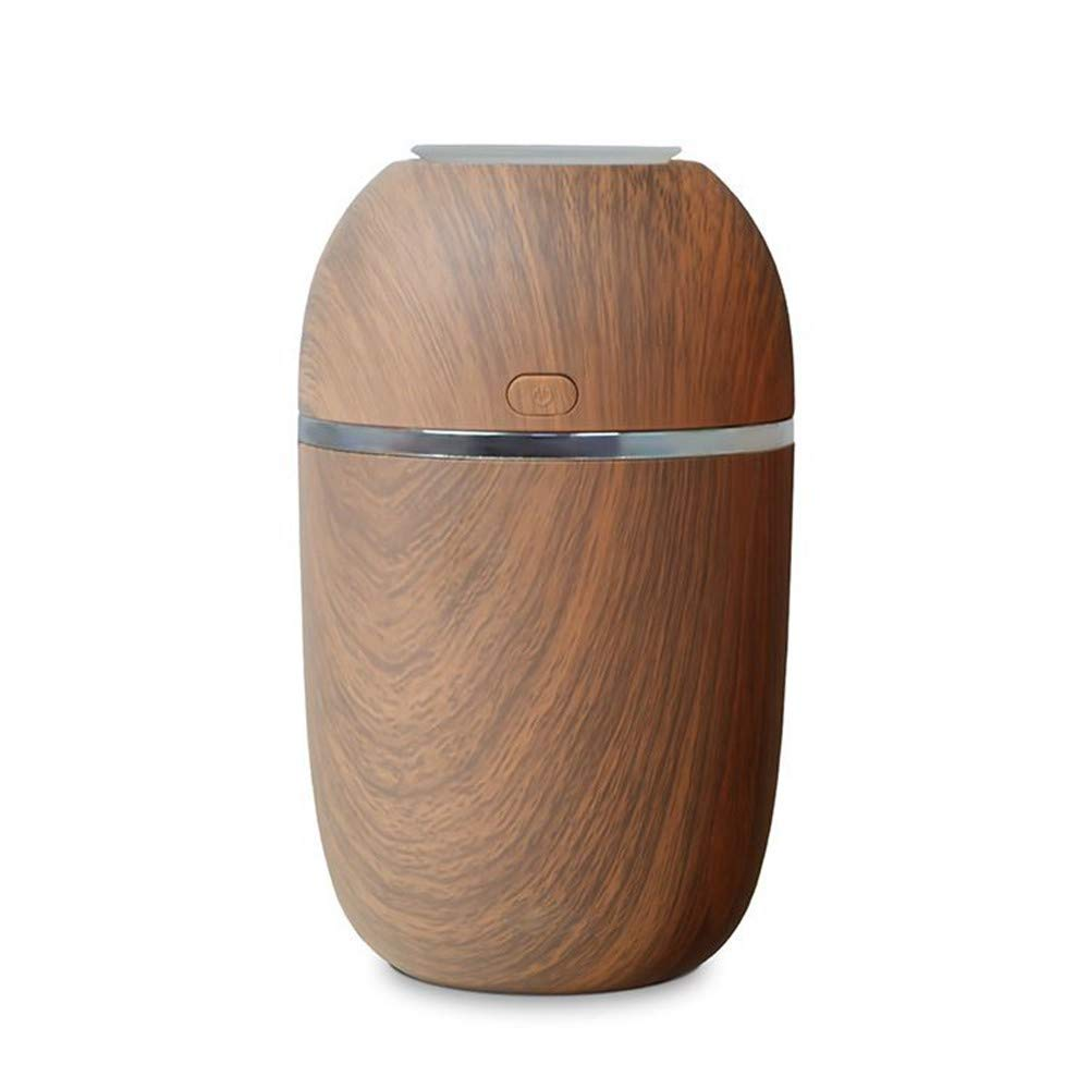 QVIE Mini Portable Silent Wood Grain Humidifier