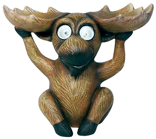Garden Critter Solar Light – Moose