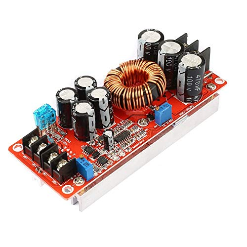 KNOSSOS Portable 1200W Constant Current DC Boost Converter Power Supply Step-up Module Red