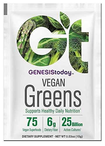 Greens Sachets Today 213 Gram 15 Essential Genesis By Nutrition Pack qgIwnt