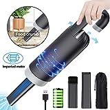 Car Vacuum Cleaner Cordless USB Handheld Portable High Power 8.5KPa 2000mAh Vacuum